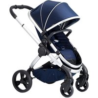 iCandy Peach Satin Pushchair and Carrycot, Indigo
