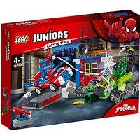 LEGO Juniors 10754 Marvel Spider-man Vs Scorpion Street Showdown