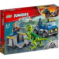 LEGO Juniors 10757 Jurassic World Raptor Rescue Truck