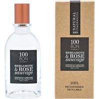 100bon Bergamote Et Rose Sauvage Eau De Parfum Concentré, 50ml