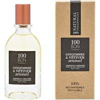 100bon Gingembre Vetiver Sensuel Eau De Parfum Concentré, 50ml