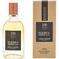 100bon Elemi & Ambre Noir Eau De Parfum Concentré, 50ml