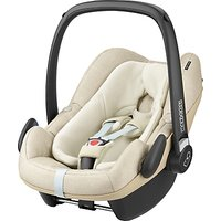 Maxi-Cosi Pebble Plus i-Size Group 0+ Baby Car Seat, Nomad Sand