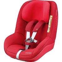 Maxi-Cosi 2wayPearl i-Size Group 1 Car Seat, Vivid Red