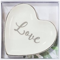 Talking Tables Ceramic Love Ring Dish