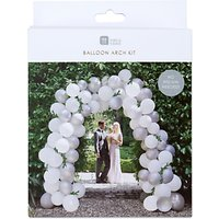 Talking Tables Wedding Balloon Arch Kit, White