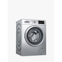 Bosch WVG3047SGB Freestanding Washer Dryer, 7kg Wash/4kg Dry Load, A Energy Rating, 1500rpm Spin, Silver