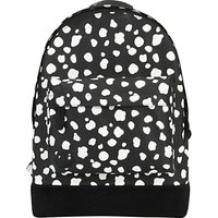 Mi-Pac Irregular Spot Backpack, Black/White
