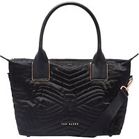 Ted Baker Fit to a T Akebia Small Tote Bag, Black