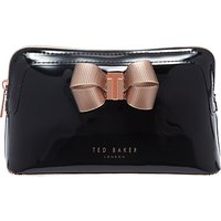 Ted Baker Lezlie Bow Makeup Bag, Black