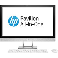HP Pavilion 27-r079na All-in-One PC, Intel Core i5, 16GB, 2TB HDD, 27, AMD Radeon 530, White