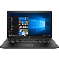 HP Pavilion Power 15-cb018na Laptop, Intel Core i7, 8GB RAM, 1TB HDD + 128GB SSD, GeForce GTX 1050 Ti, 15.6, Black