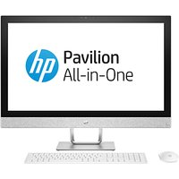 HP Pavilion 27-R059NA All-in-One PC, Intel Core i5, 16GB, 2TB HDD, 27, White