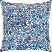 Liberty Fabrics & John Lewis Susanna Cushion, Blue
