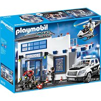 Playmobil City Action 9372 Police Station Mega Set