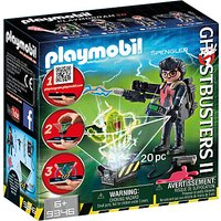 Playmobil Ghostbusters II 9346 Egon Spengler Set