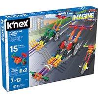 K'Nex 33017 Power & Go Racers Building Set