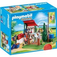 Playmobil Country 6929 Horse Groom Station at John Lewis Department Store