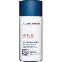 ClarinsMen UV Plus Multi-Protection Moisturiser SPF 50 , 50ml