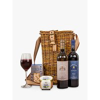 John Lewis Wine Duo and Nibbles Hamper