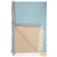 John Lewis Linen Chambray Throw