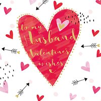 Belly Button Designs To My Husband Valentine's Day Card at John Lewis Department Store