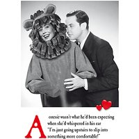 Emotional Rescue Onesie Valentine's Day Card