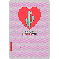 Art File I Pricked You Valentine's Day Card