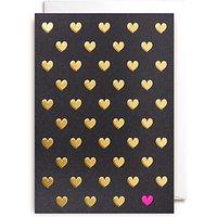 Lagom Designs Polka Dot Hearts Valentine's Day Card