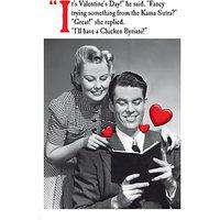Emotional Rescue Karma Sutra Valentine's Day Card
