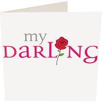 Caroline Gardner My Darling Rose Valentine's Day Card