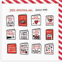 Ohh Deer Circle Valentine's Day Card
