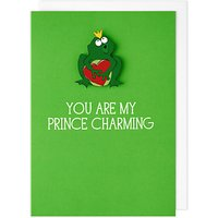 Tache Crafts Prince Charming Valentine's Day Card
