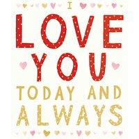 Cardmix Love You Always Valentine's Day Card