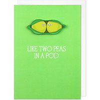 Tache Crafts Two Peas Valentine's Day Card