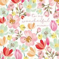 Caroline Gardner My Wonderful Mum Mother's Day Card