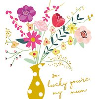 Caroline Gardner So Lucky Mother's Day Card
