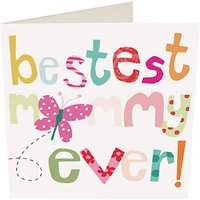 Caroline Gardner Bestest Mummy Ever Mother's Day Card