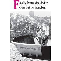Emotional Rescue Handbag Mother's Day Card