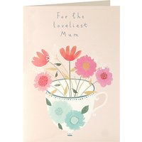 James Ellis Stevens Flowers Above And Below Mother's Day Card