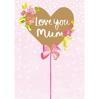 Paper Salad Love You Mum Mother's Day Card