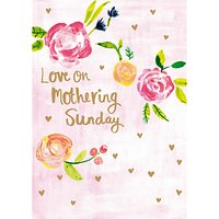 Paper Salad Mothering Sunday Mother's Day Card