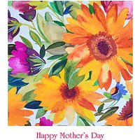 Portfolio Orange Daisies Mother's Day Card