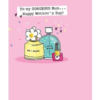 Saffron Cards And Gifts Perfurme Mother's Day Card