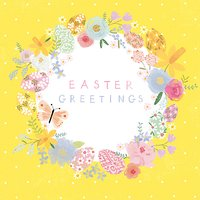 Cardmix Joys Of Spring Easter Greeting Card