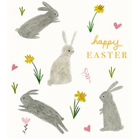 Woodmansterne Hoppy Easter Greeting Card