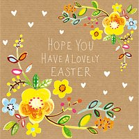Paper Salad Lovely Easter Greeting Card