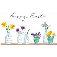Woodmansterne Pots Of Spring Easter Greeting Card