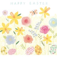 Cardmix Spring Garden Easter Greeting Card