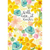 Caroline Gardner With Love Easter Greeting Card